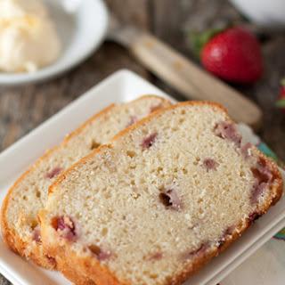 Fresh Strawberry Cream Cheese Bread.