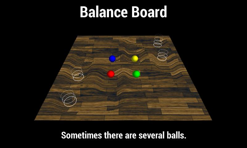 Balance Board - Labyrinth Game- screenshot