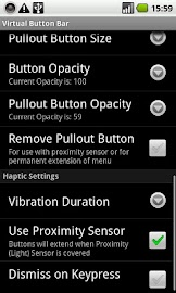 Virtual Button Bar Screenshot 3