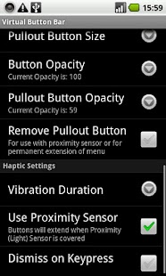 Virtual Button Bar Screenshot 3