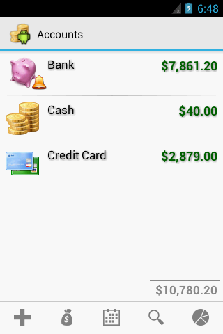 Cash Droid - screenshot