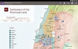 Screenshot of JW Library