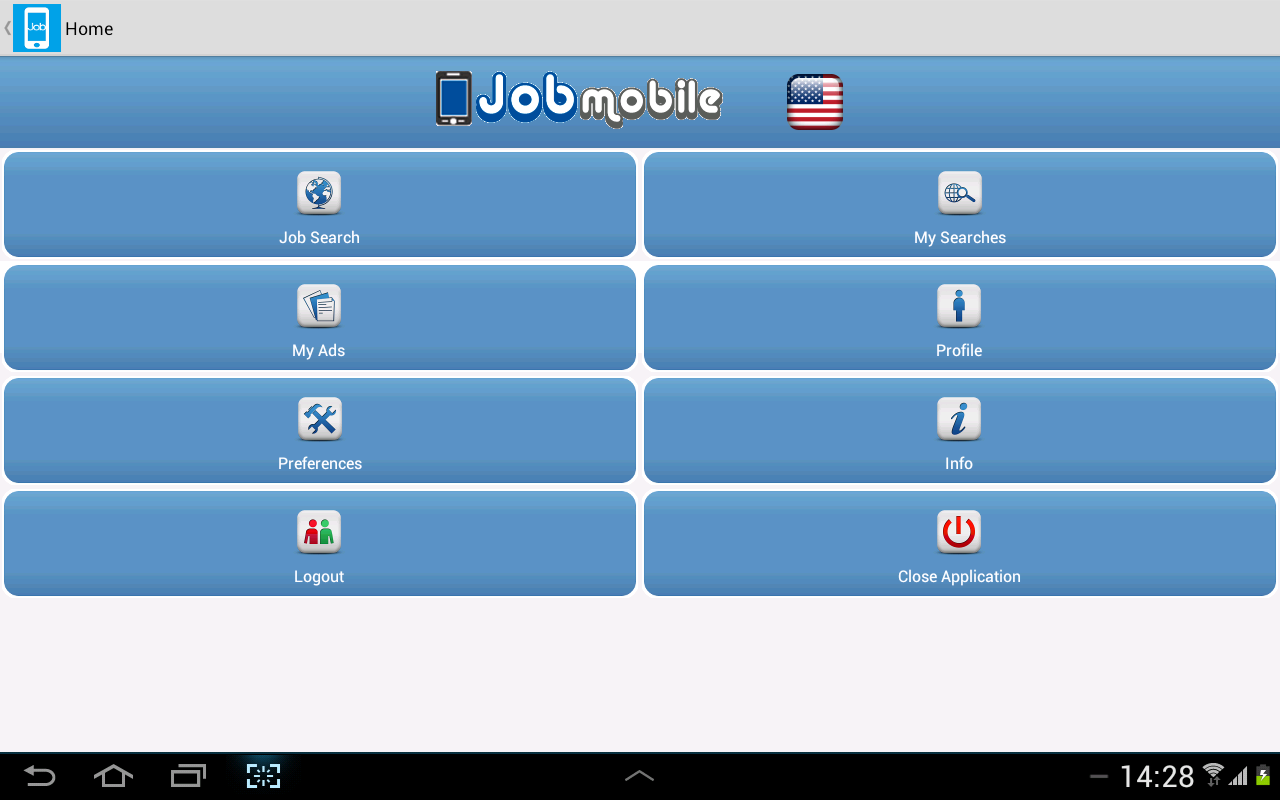 Jobmobile App- screenshot