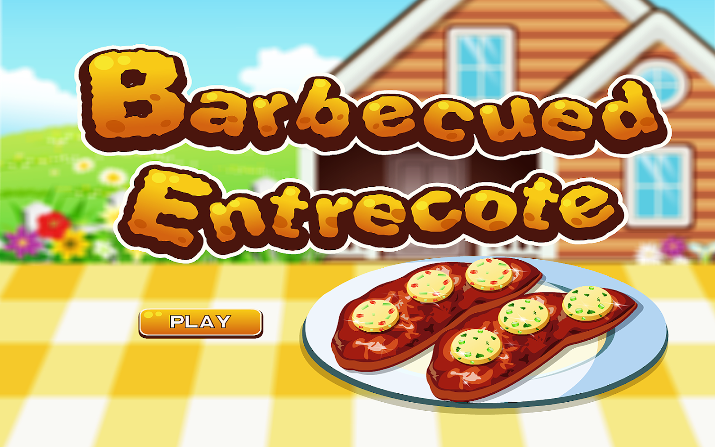 Beef Barbecue Cooking Games- screenshot