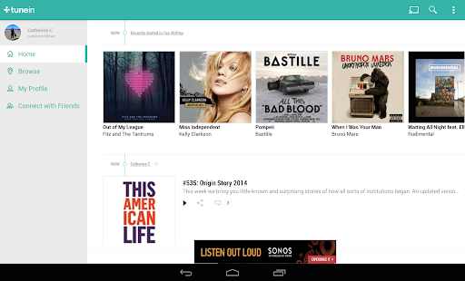 TuneIn Radio - Radio & Music Screenshot 24