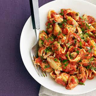 Tuna-and-Tomato Pasta.