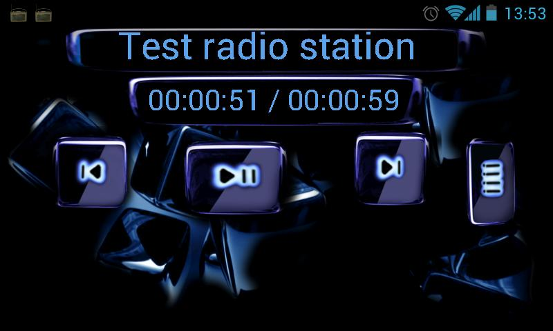 zRadio:Internet Radio Recorder - screenshot