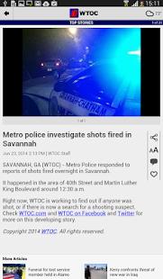 WTOC 11 News - screenshot thumbnail