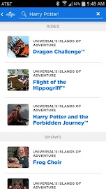 Universal Orlando® Resort App Screenshot 7