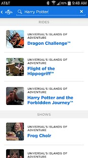 Universal Orlando® Resort App - screenshot thumbnail