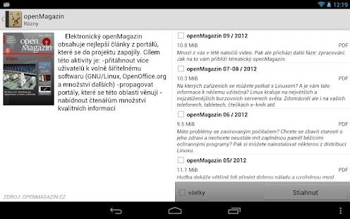 Digitálna knižnica - screenshot thumbnail