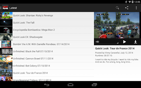 Giant Bomb Video Buddy 2.0.9 screenshot 20008