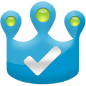 Checkin King for Facebook, 4SQ icon
