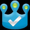 Checkin King for Facebook, 4SQ icon