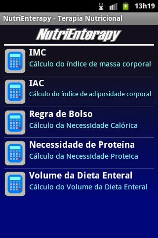 NutriEnterapy- screenshot