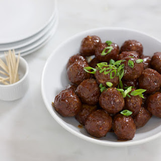 Bourbon and Honey Glazed Meatballs