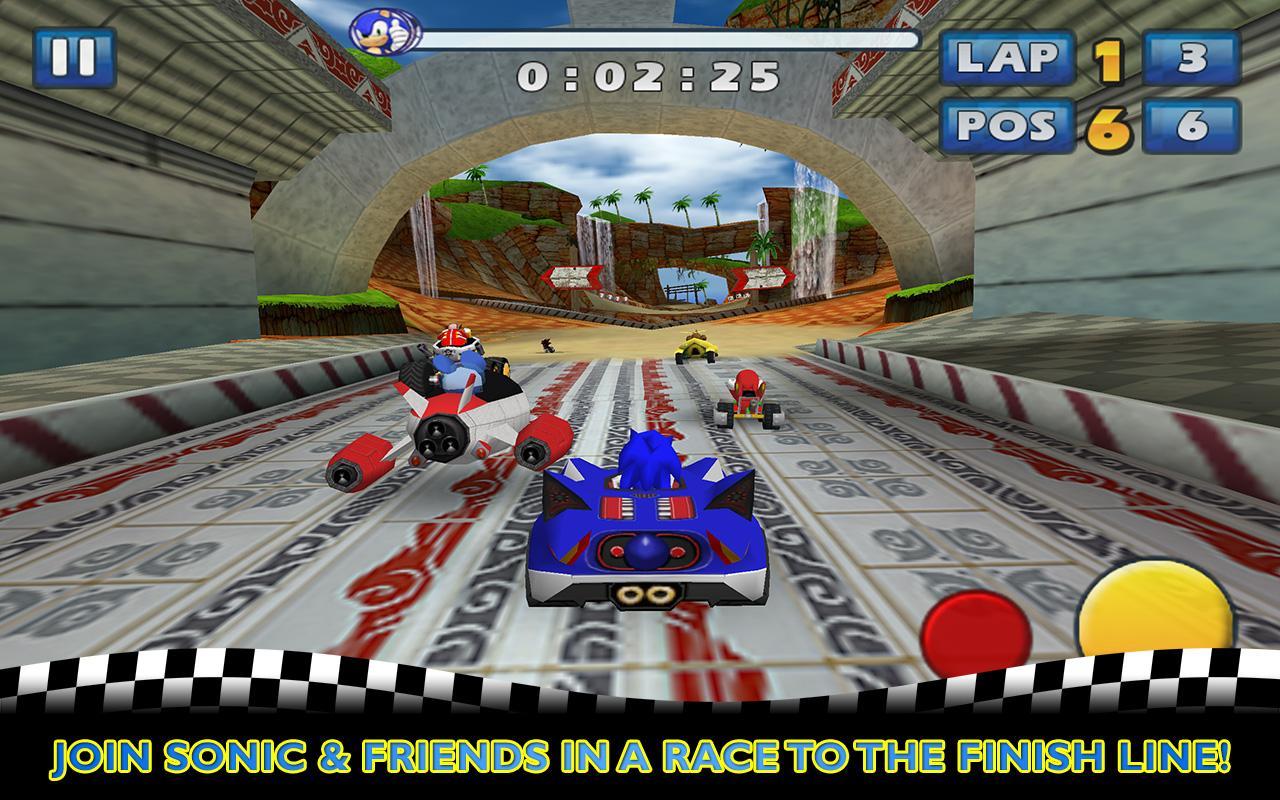 Sonic & SEGA All-Stars Racing screenshot #1