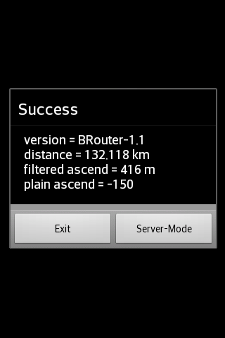 BRouter Offline Navigation- screenshot