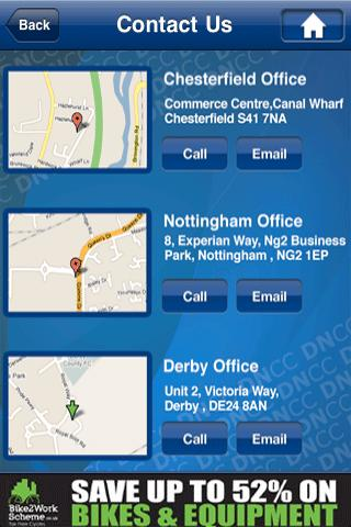 DNCC Chamber of Commerce - screenshot