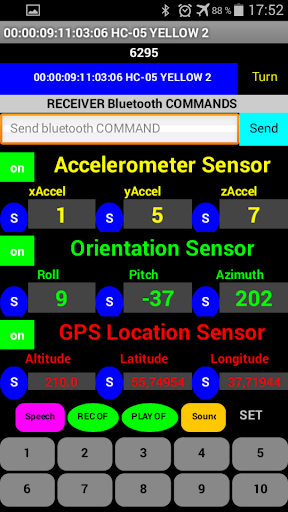 Sensor Shield Arduino Android