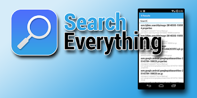 Screenshot of Search Everything