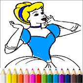 Princess Finger Paint