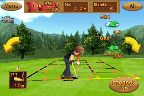 Cup! Cup! Golf 3D! - screenshot