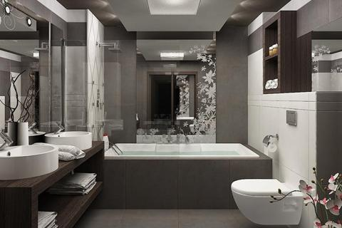 Bathroom decorating ideas android apps on google play for Decorated bathrooms photos