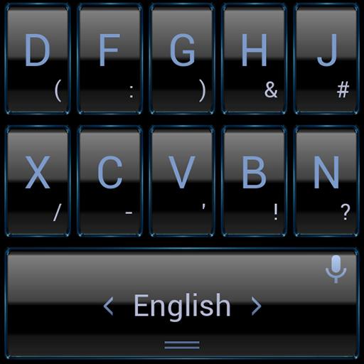 键盘主题 Blue Frame 個人化 LOGO-玩APPs