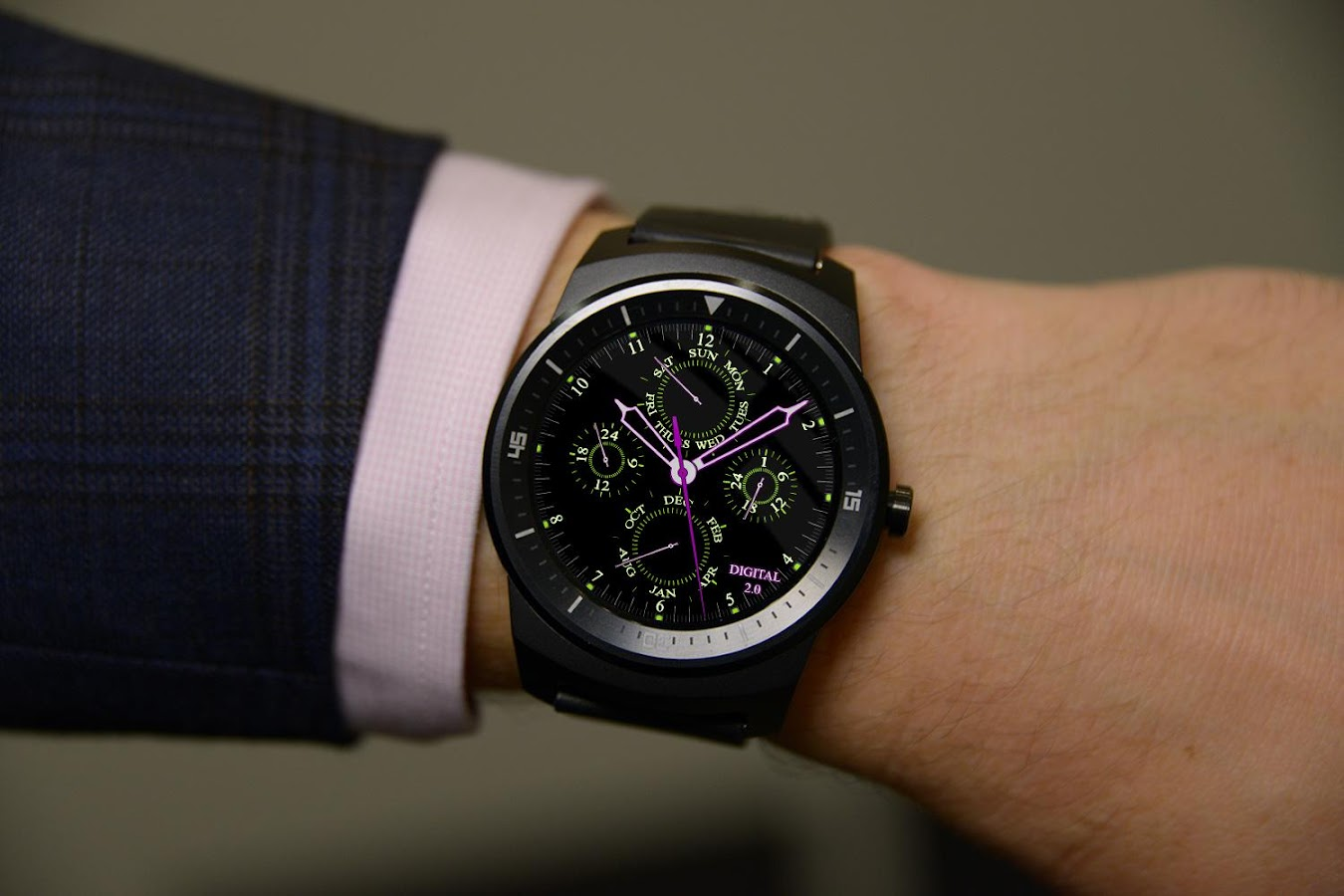 Watch Face D2 Android Wear