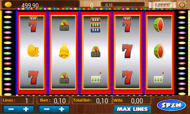 free fruit machine games to play