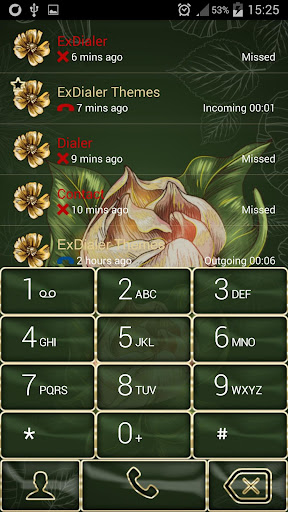 ExDialer Flowers