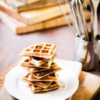 Coconut Almond Belgian Waffles