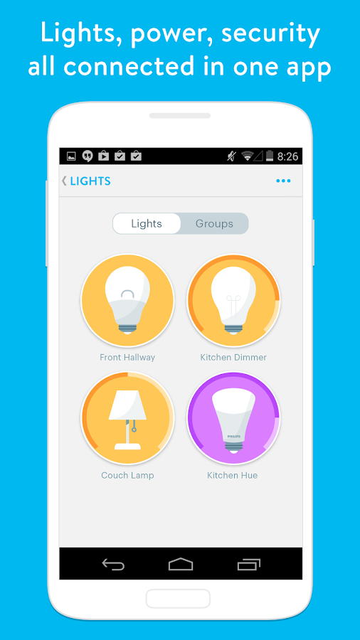 Wink - Smart Home- screenshot