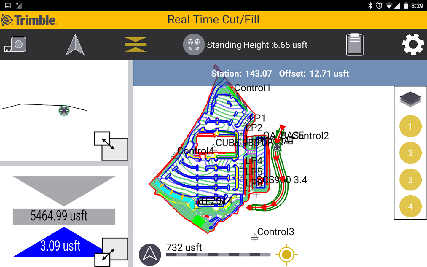 Trimble SitePulse Software- screenshot