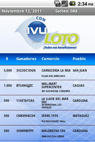 IVU Loto Official - screenshot