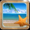 Paradise Beach Live Wallpaper icon