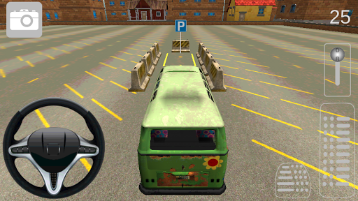 Minibus Driver Parking