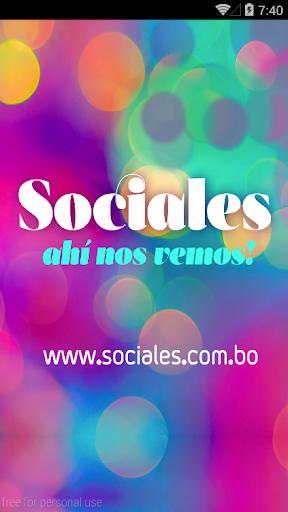 Sociales.com.bo
