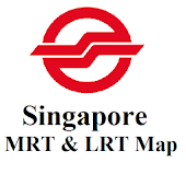 Singapore MRT & LRT Map