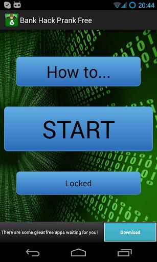 Bank Hack Prank FREE