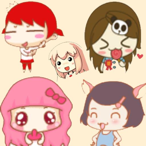 公主表情符號 娛樂 App LOGO-APP試玩
