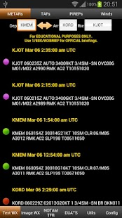 FlightBriefer Aviation Weather screenshot for Android