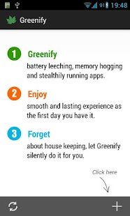 Greenify *ROOT: Renew my Phone - screenshot thumbnail