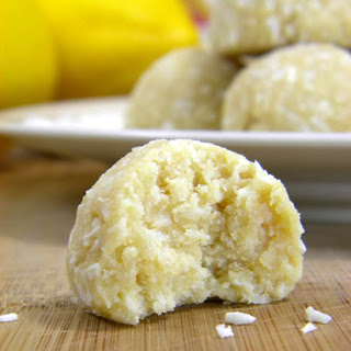 Coconut-Lemon Meltaway Cookies.