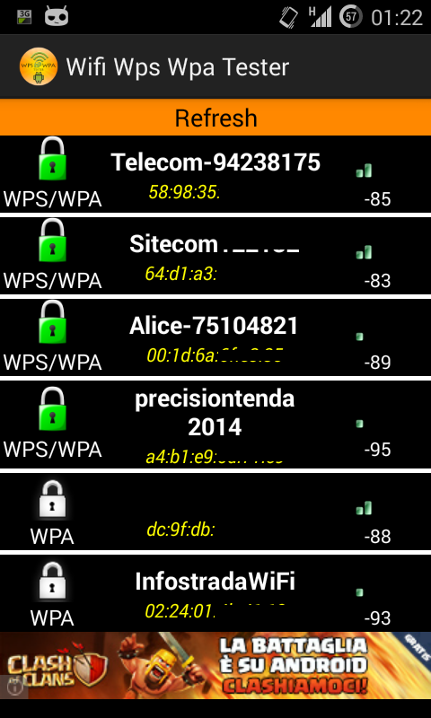 WIFI WPS WPA TESTER (ROOT) - Android Apps on Google Play