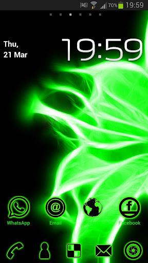 Neon Green Glow