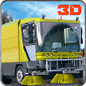 Street Sweeper Services Truck icon