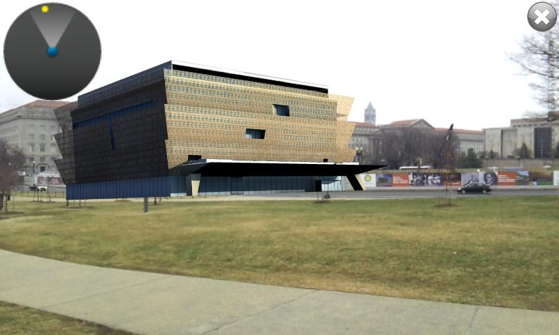 See NMAAHC- screenshot