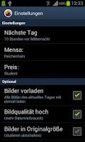 Screenshot of Mensa Chemnitz